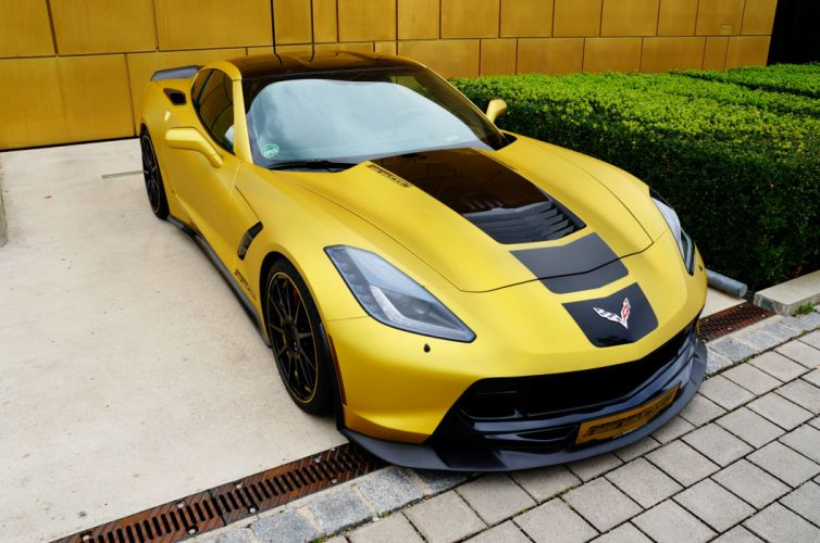2014 Geiger Chevrolet Corvette Stingray Coupe C-7 tuning muscle supercar wallpaper