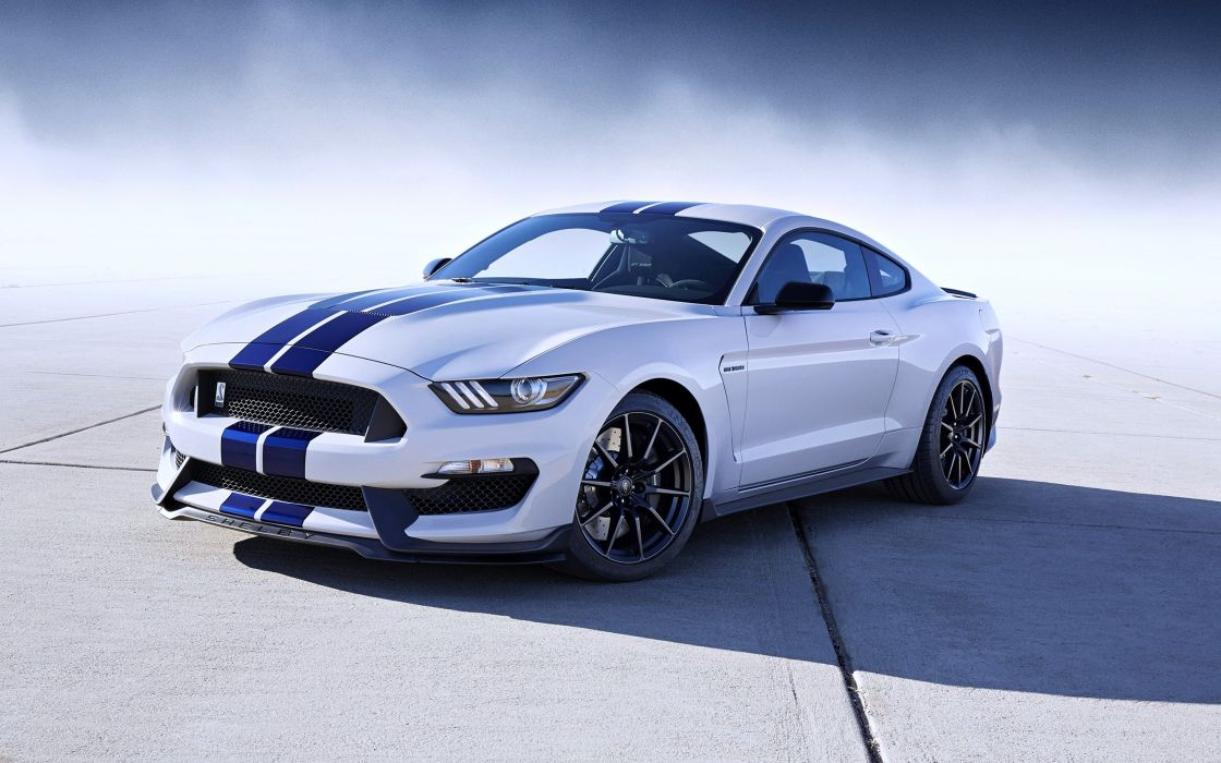 2016 Ford-Mustang Shelby GT350 cars speed race motors super wallpaper
