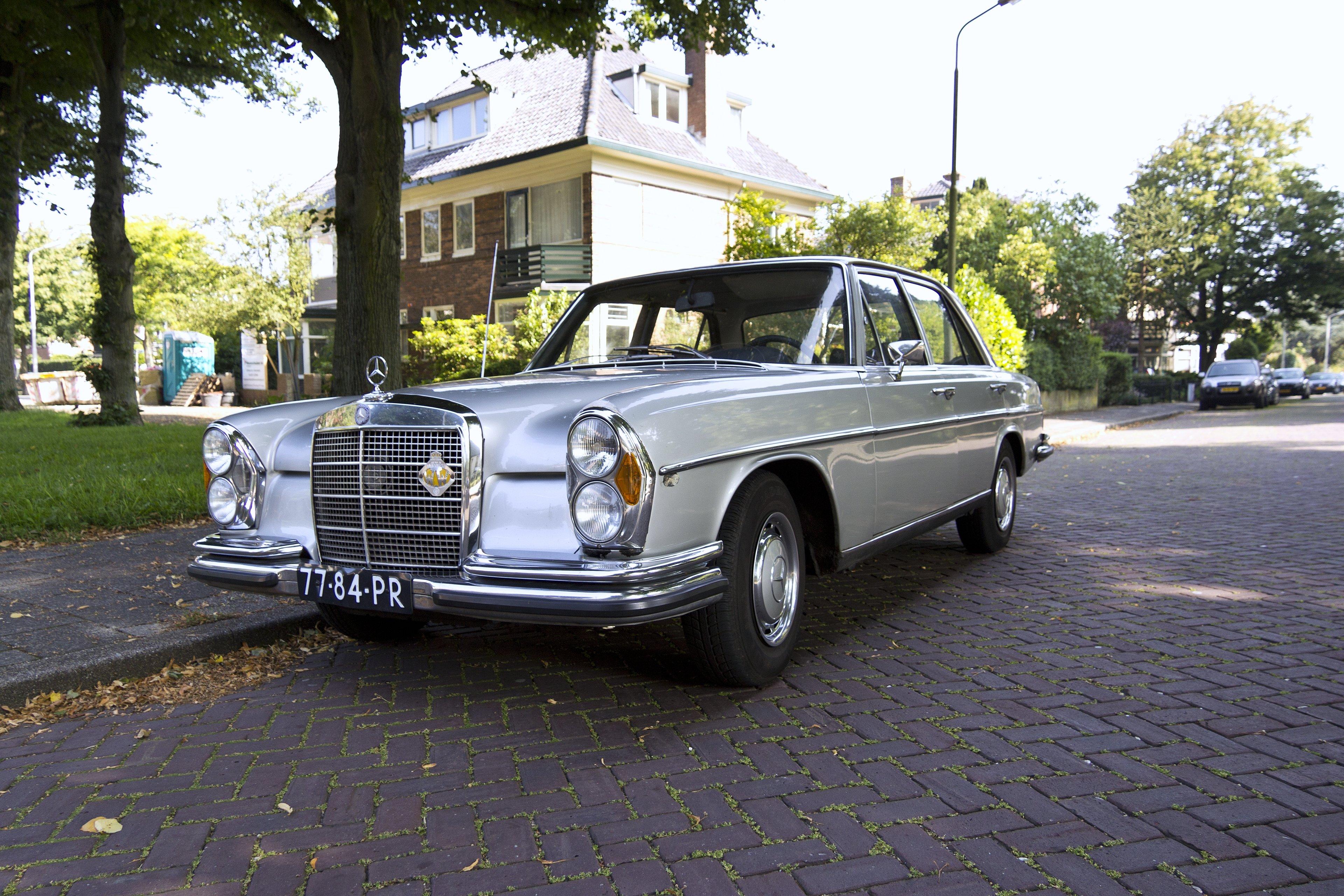 Mercedes benz 280s old classic cars motors road wallpaper for Old mercedes benz
