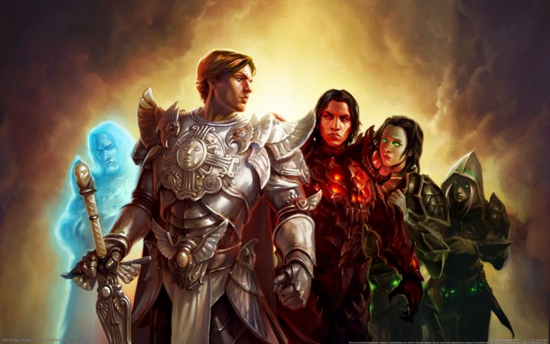 HEROES MIGHT MAGIC strategy fantasy fighting adventure action online 1hmm warrior wallpaper