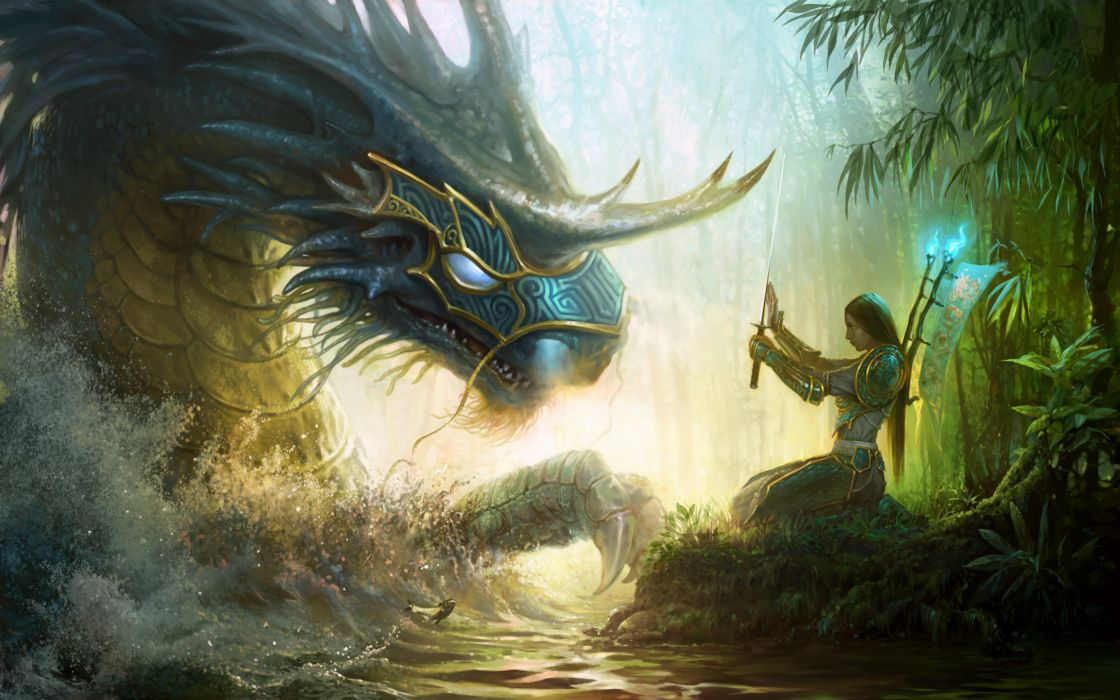 HEROES MIGHT MAGIC strategy fantasy fighting adventure action online 1hmm warrior magic dragon monster wallpaper