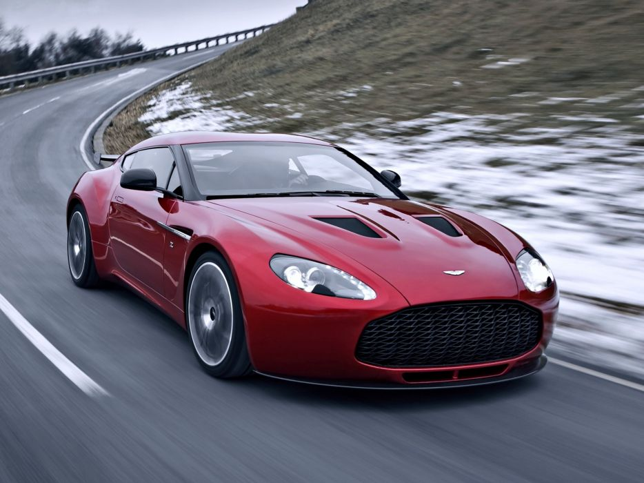 aston martin-v12 zagato red cars race speed motors road wallpaper