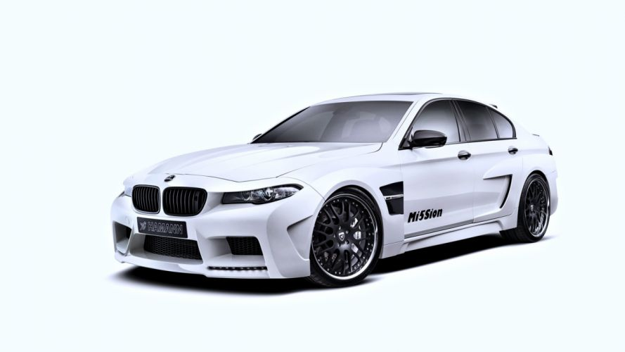 2014 hamann mi5sion bmw-f10 cars speed motors race white force wallpaper