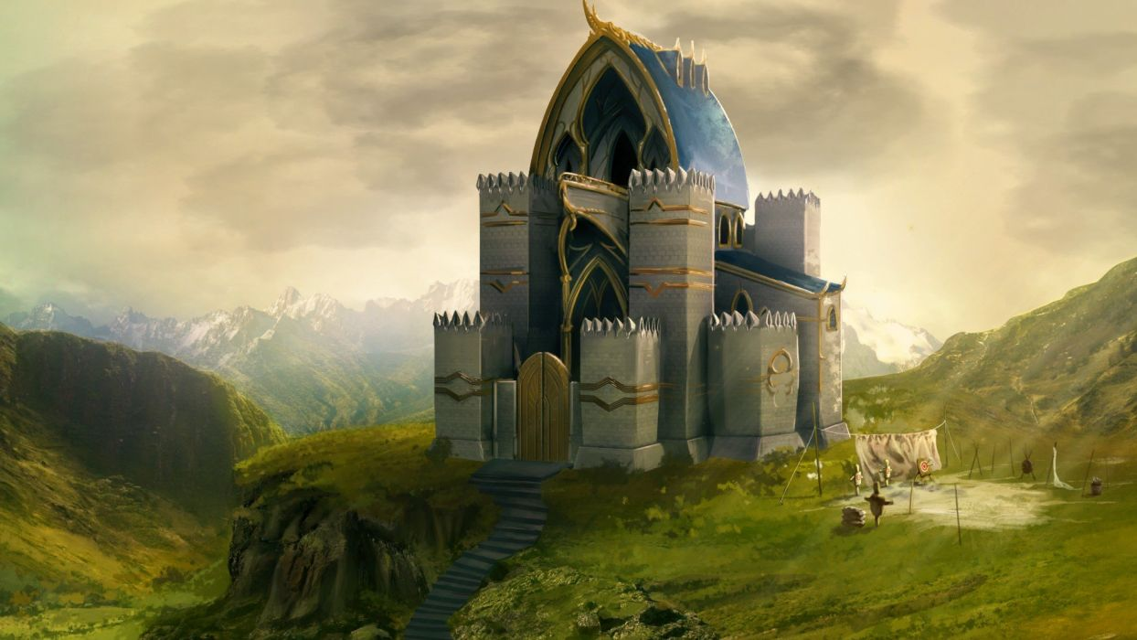 HEROES MIGHT MAGIC strategy fantasy fighting adventure action online 1hmm castle wallpaper