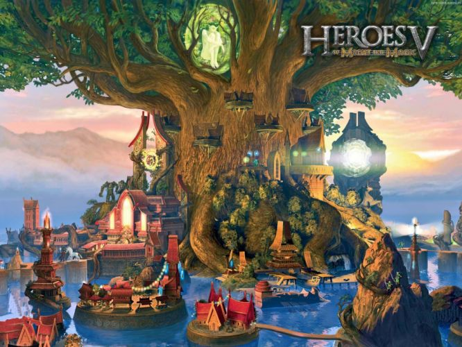 HEROES MIGHT MAGIC strategy fantasy fighting adventure action online 1hmm poster wallpaper