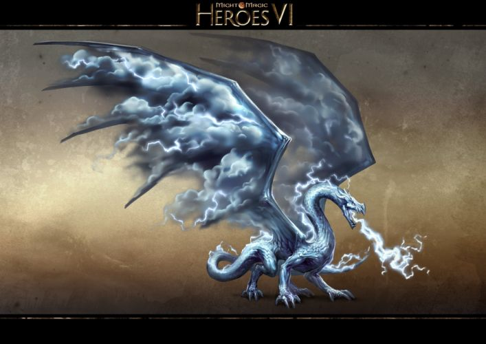 HEROES MIGHT MAGIC strategy fantasy fighting adventure action online 1hmm warrior poster poster dragon wallpaper