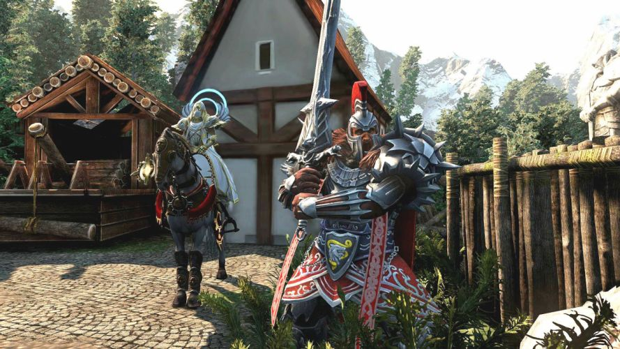 HEROES MIGHT MAGIC strategy fantasy fighting adventure action online 1hmm warrior sword knight armor wallpaper