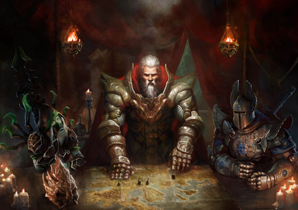 HEROES MIGHT MAGIC strategy fantasy fighting adventure action online 1hmm king knight warrior armor wallpaper