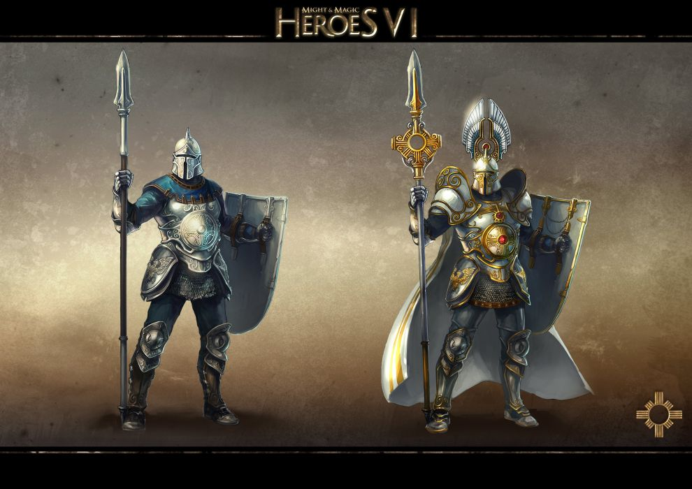 HEROES MIGHT MAGIC strategy fantasy fighting adventure action online 1hmm poster warrior wallpaper