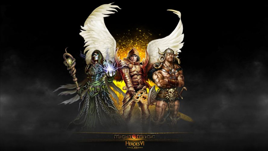 HEROES MIGHT MAGIC strategy fantasy fighting adventure action online 1hmm reaper poster warrior wallpaper