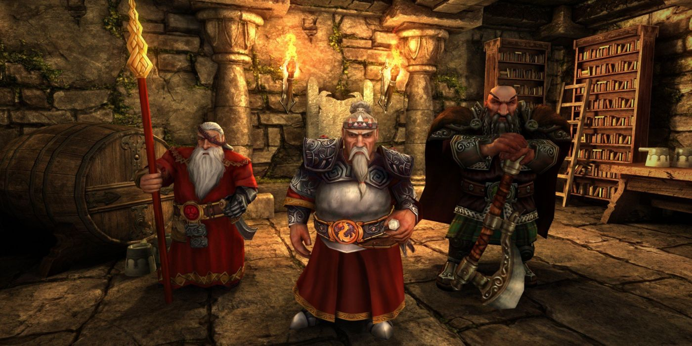 HEROES MIGHT MAGIC strategy fantasy fighting adventure action online 1hmm warrior dwarf king wallpaper