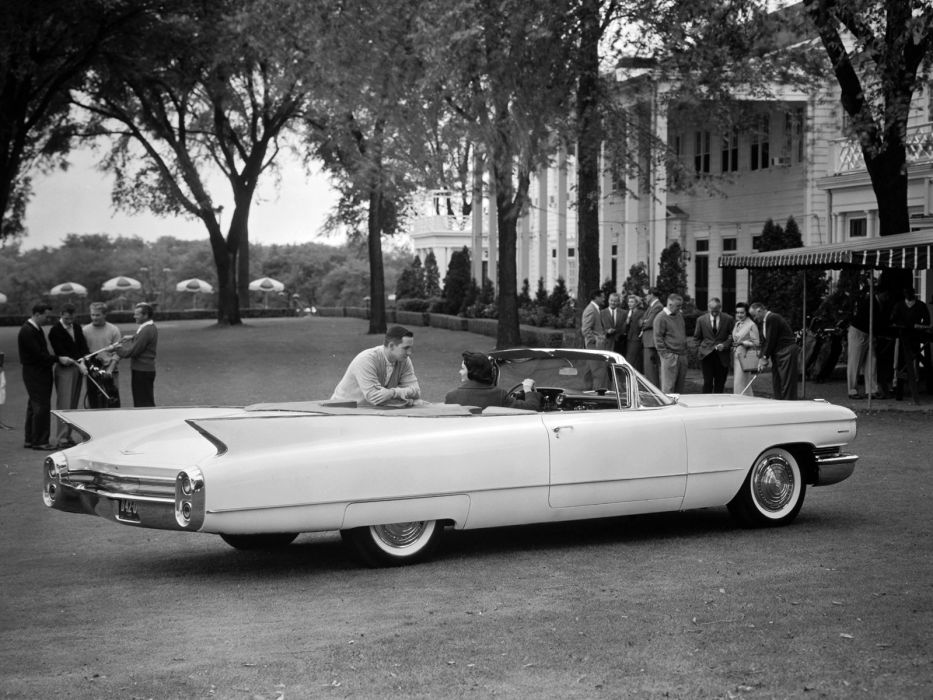 1960 Cadillac Sixty-Two Convertible 6267F luxury classic wallpaper