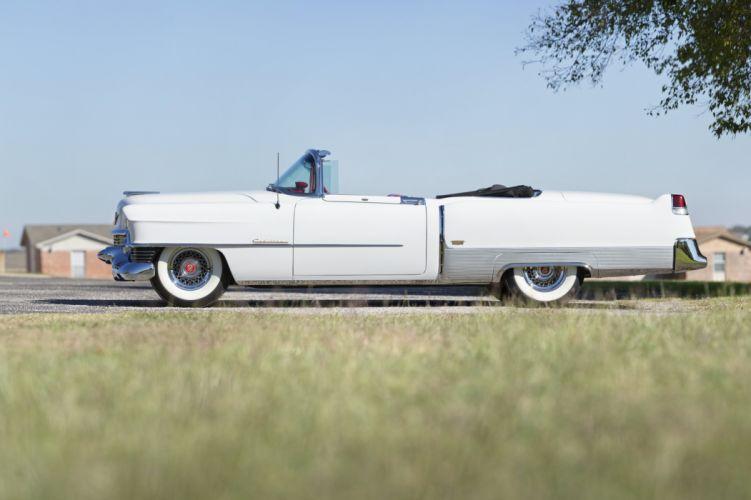 1954 Cadillac Eldorado Convertible 6267SX luxury retro wallpaper