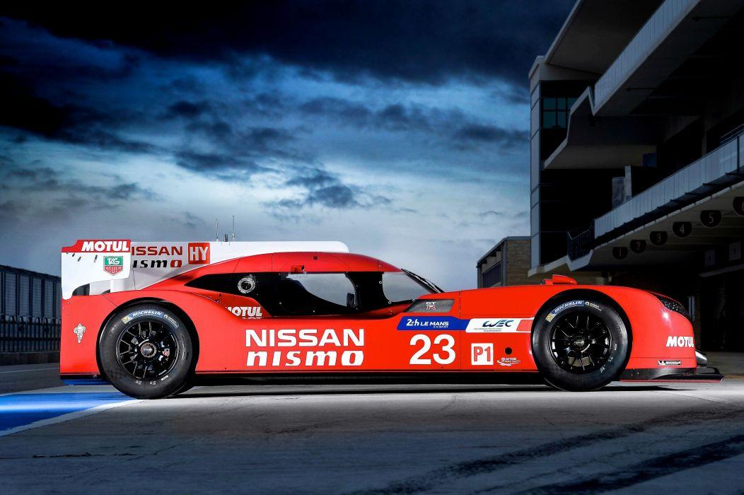 2015 Nissan GTR L-M Nismo Le-Mans race racing wallpaper