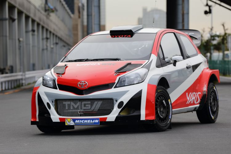 2015 Toyota Yaris WRC Prototype XP130 race racing wallpaper