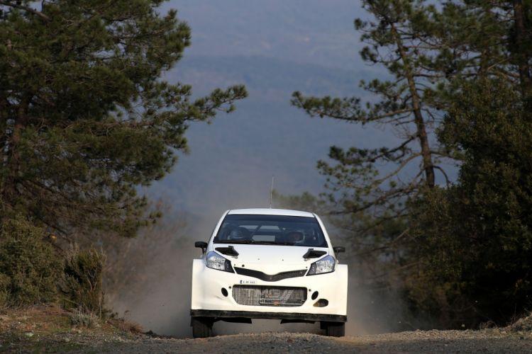 2015 Toyota Yaris WRC Prototype XP130 race racing wallpaper