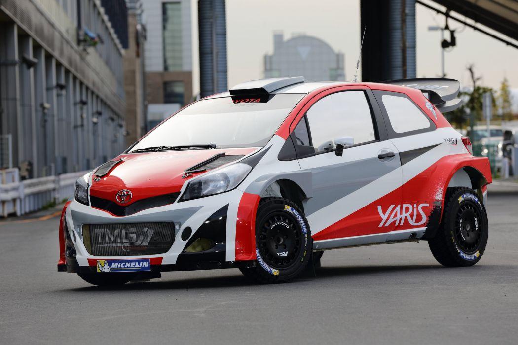 2015 toyota yaris wrc prototype xp130 race racing