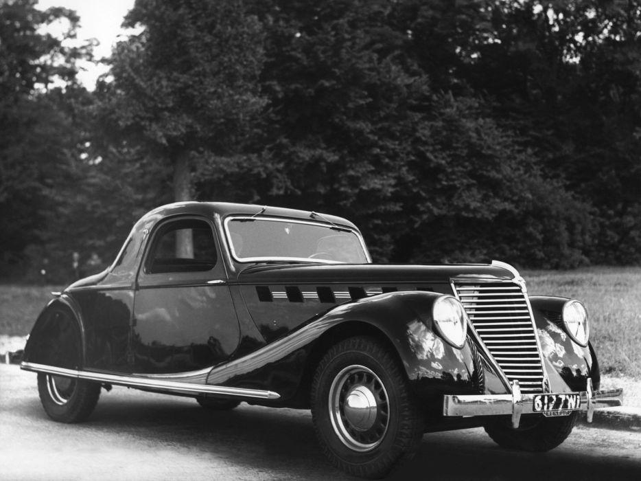 1938 Renault Suprastella Coupe retro vintage wallpaper