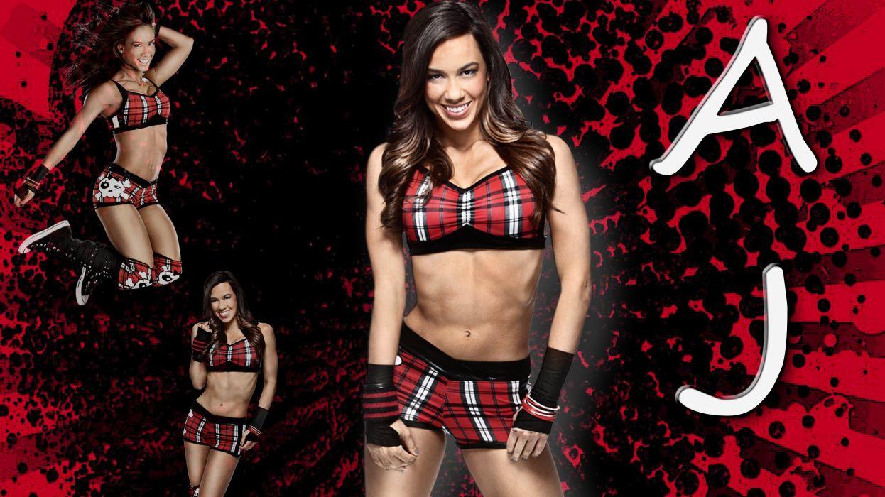 AJ Lee sexy Wrestler wallpaper