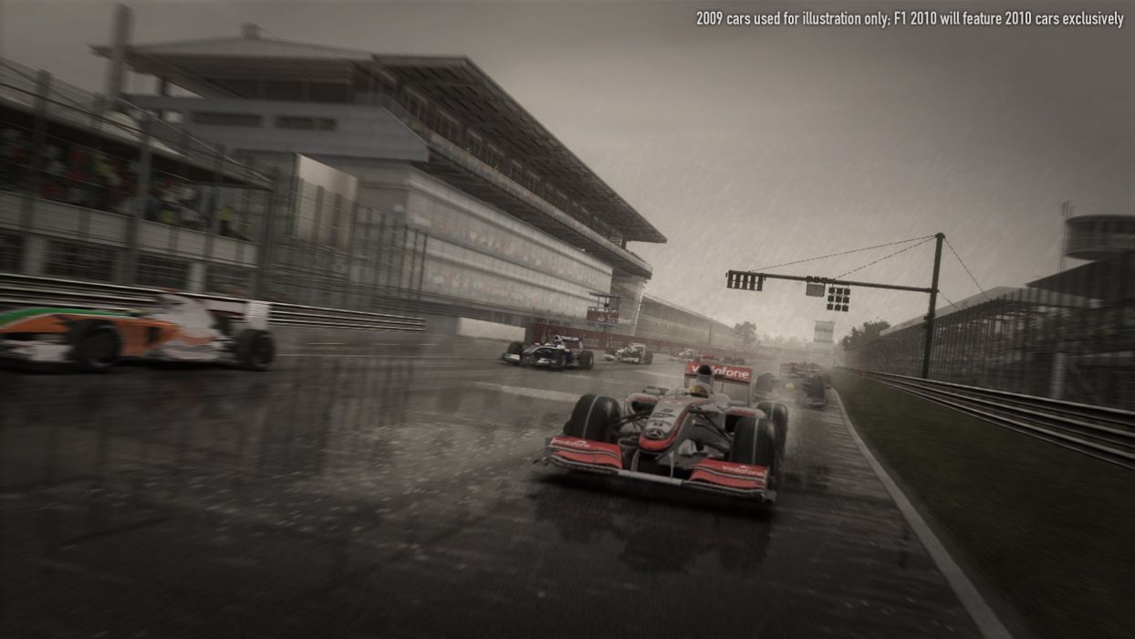 F1 2010 Promo Shot wallpaper