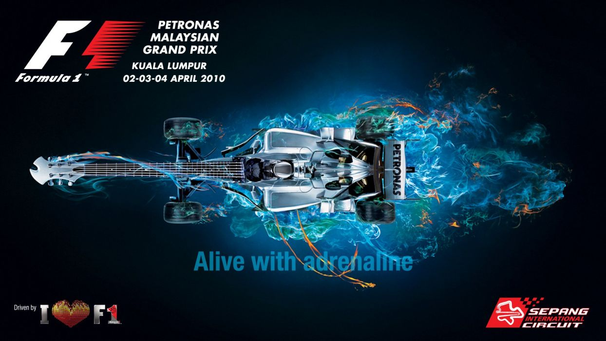 Malaysian Grand Prix 2010 wallpaper