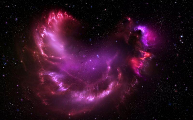 glow nebula stars space galaxy Universe sky ufo wallpaper