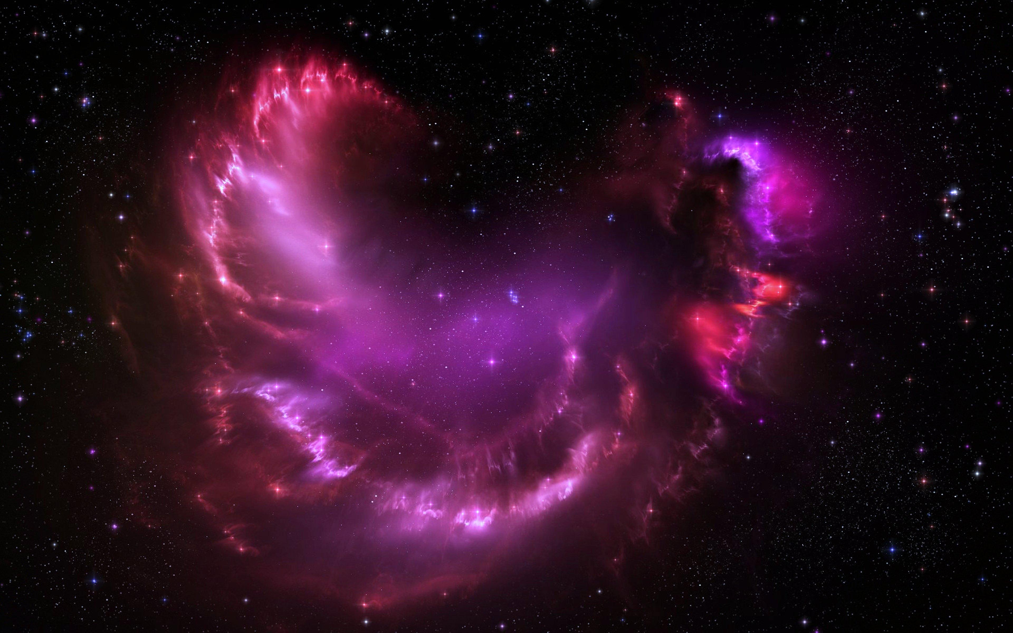 pink nebula galaxy space wallpaper - photo #41