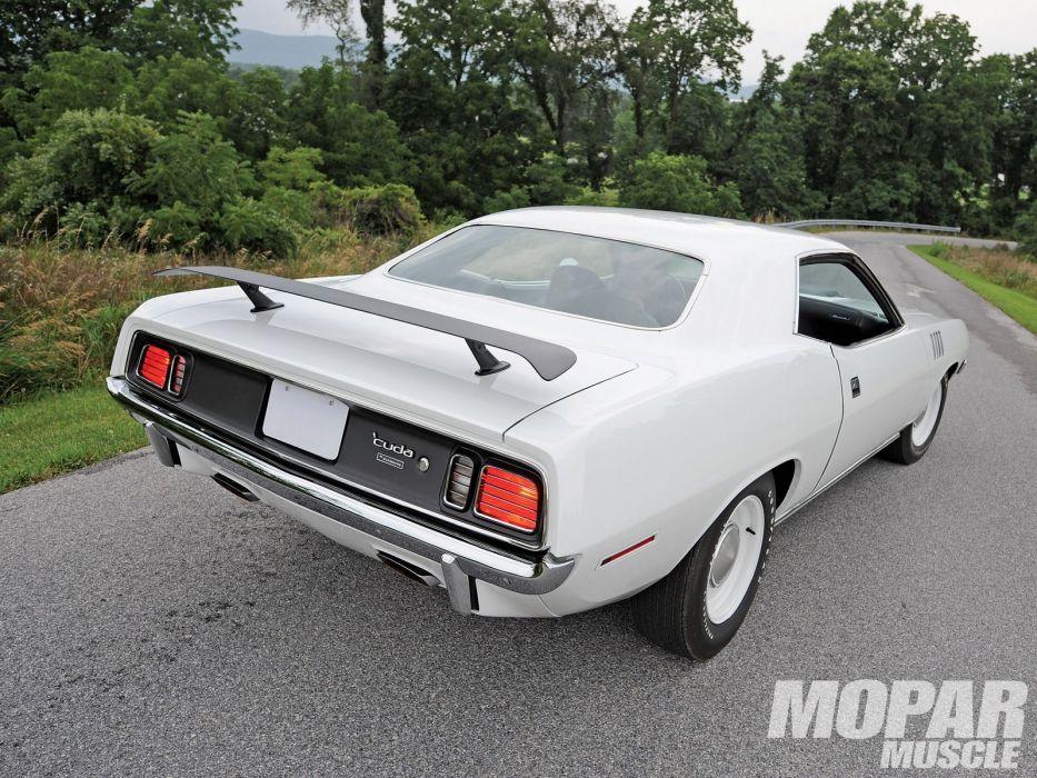 Plymouth Hemi Cuda cars muscle classic wallpaper