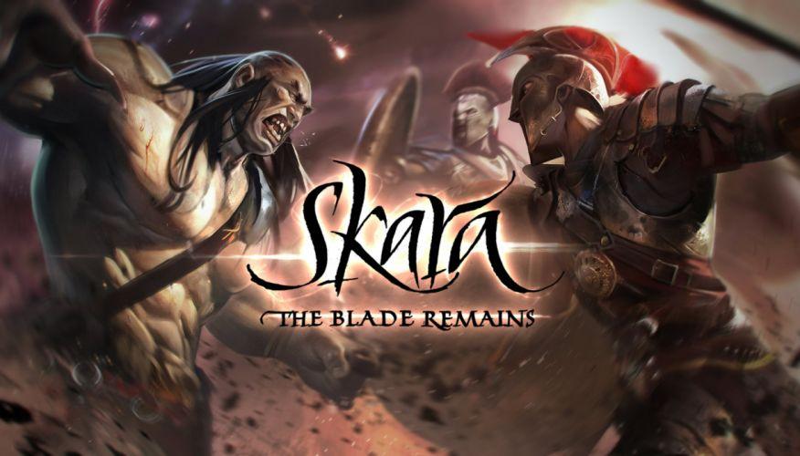 SKARA BLADE REMAINS fantasy mmo online fighting combat 1sbr action wallpaper