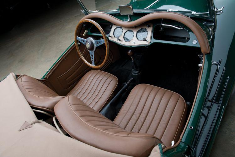 1955 M-G T-F retro roadster wallpaper