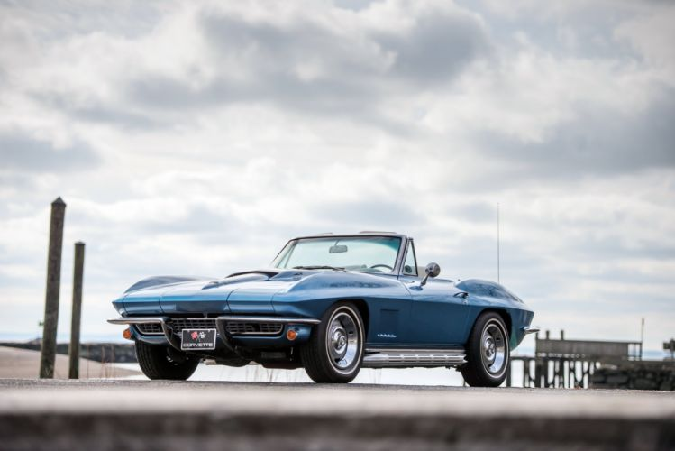 1967 Chevrolet Corvette StingRay L36 427 390HP Convertible supercar muscle classic sting ray wallpaper