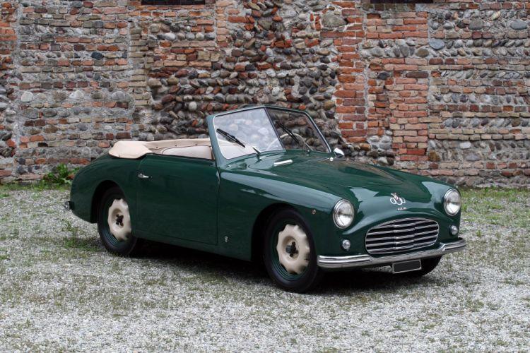 1950 Siata Amica Cabriolet retro convertible wallpaper