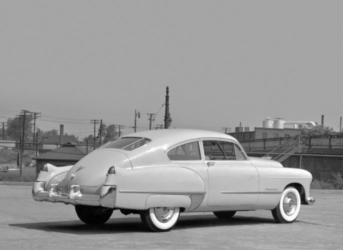 1948 Cadillac Sixty-One Club Coupe luxury retro wallpaper