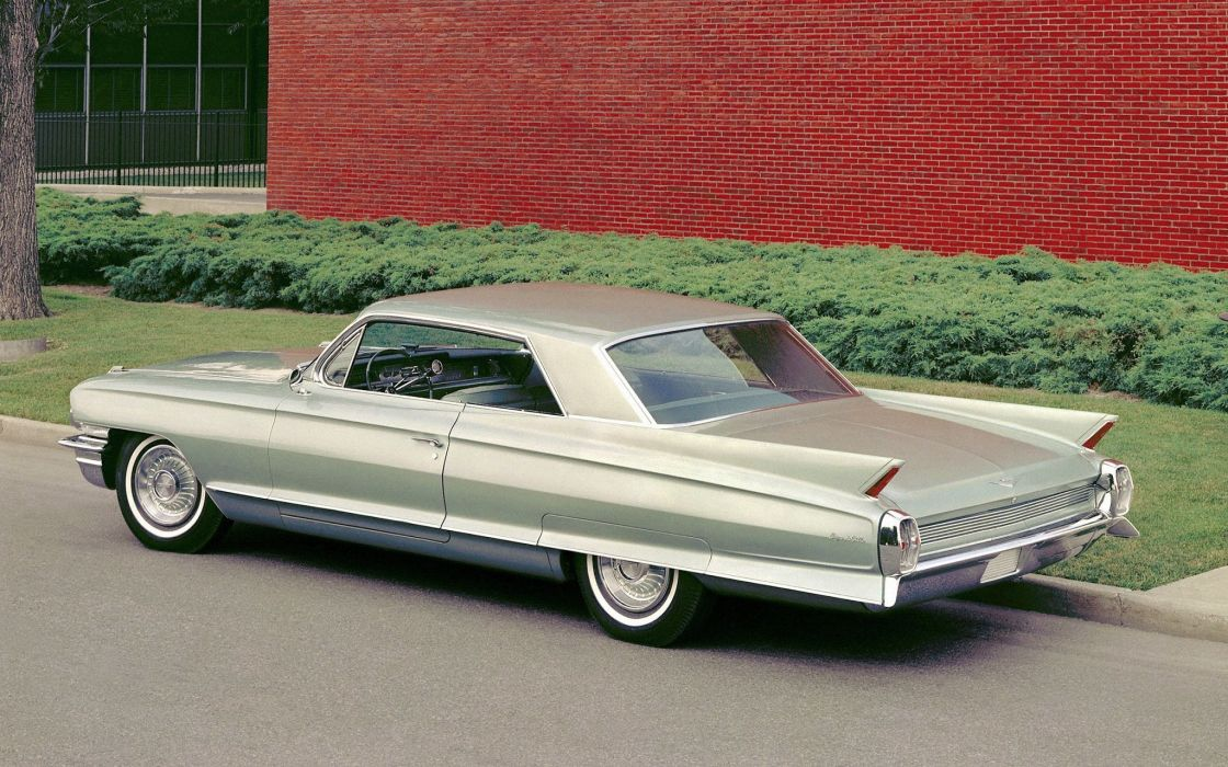 1962 Cadillac Coupe deVille luxury classic wallpaper
