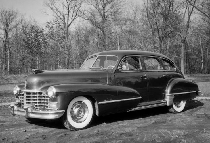 1947 Cadillac Sixty-One Sedan luxury retro wallpaper
