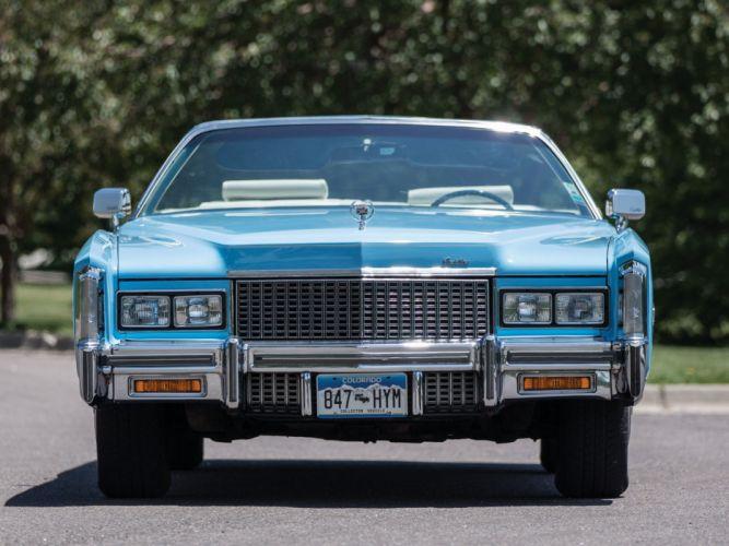 1976 Cadillac Fleetwood Eldorado Convertible luxury classic wallpaper