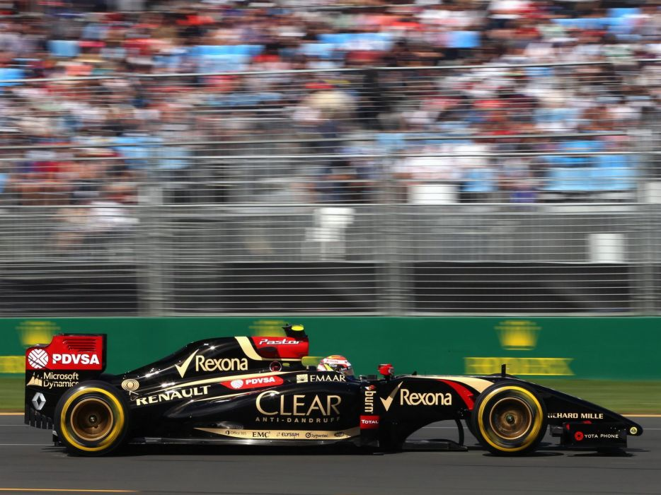 2014 Lotus E22 formula f-1 race racing formula wallpaper