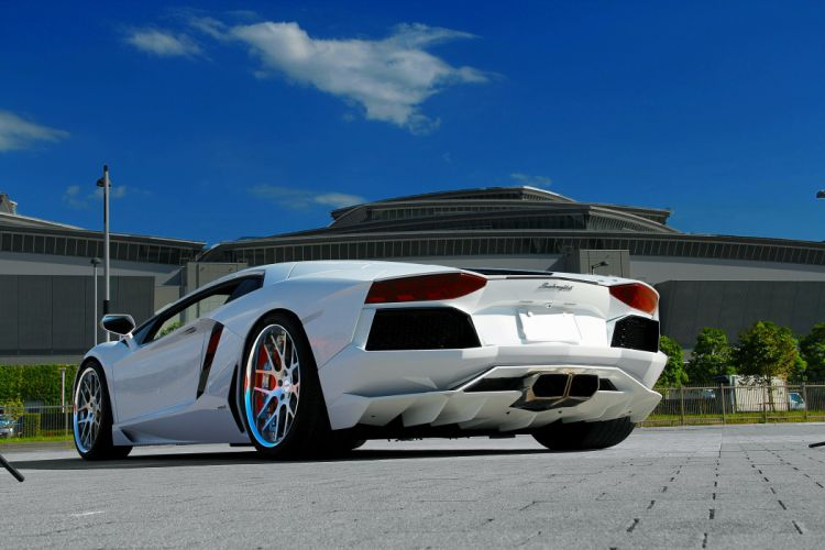 Lamborghini Aventador LP700 wallpaper