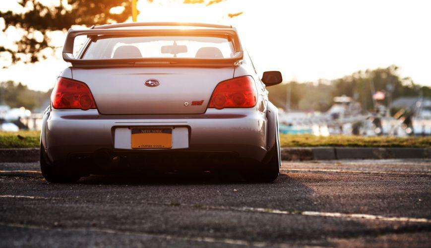 Subaru Impreza WRX STI Bumper Rear wallpaper