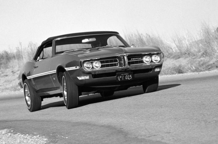 1968 Pontiac Firebird 400 Convertible 2367 muscle classic wallpaper