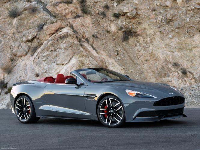 2015 Aston cabriolet convertible Martin vanquish volante wallpaper
