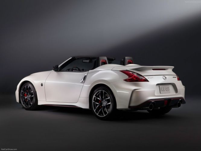 Nissan 370Z Nismo Roadster Concept 2015 cars convertible wallpaper