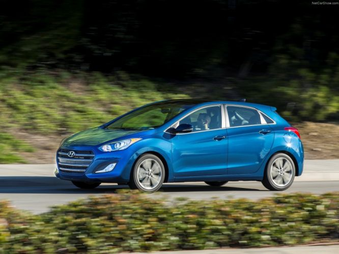 Hyundai Elantra GT 2016 cars wallpaper