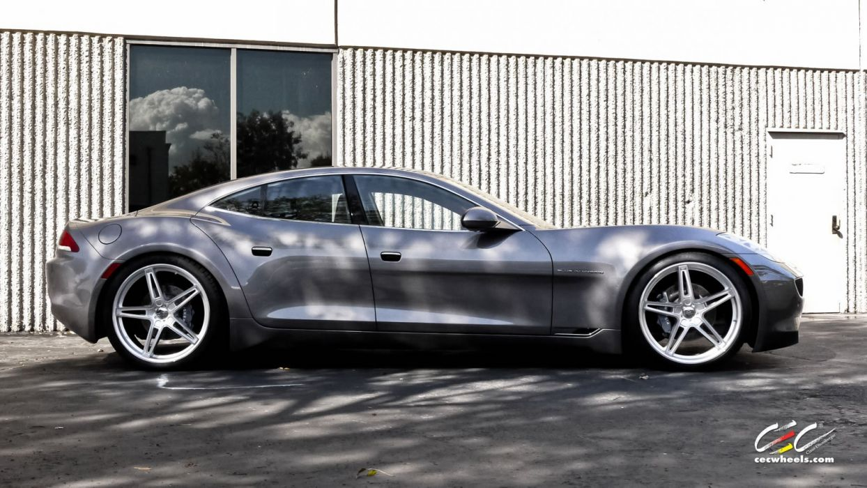 2015 cars CEC Tuning wheels Fisker Karma electric wallpaper