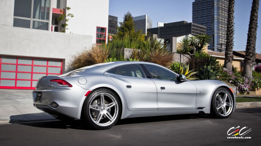 2015 cars CEC Tuning wheels Fisker Karma electric wallpaper