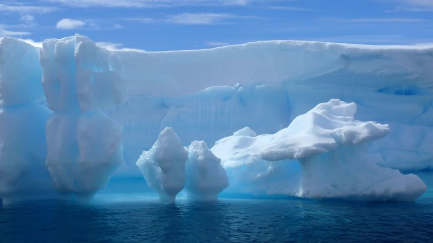 icebergs-hielo-mar-naturaleza-paisaje-artico wallpaper