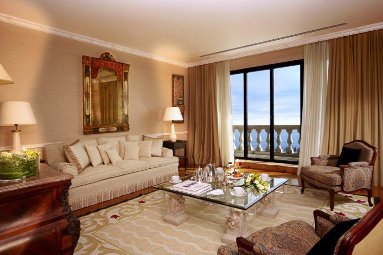 interior design style house Villa living-room happy relax beauty sea wallpaper