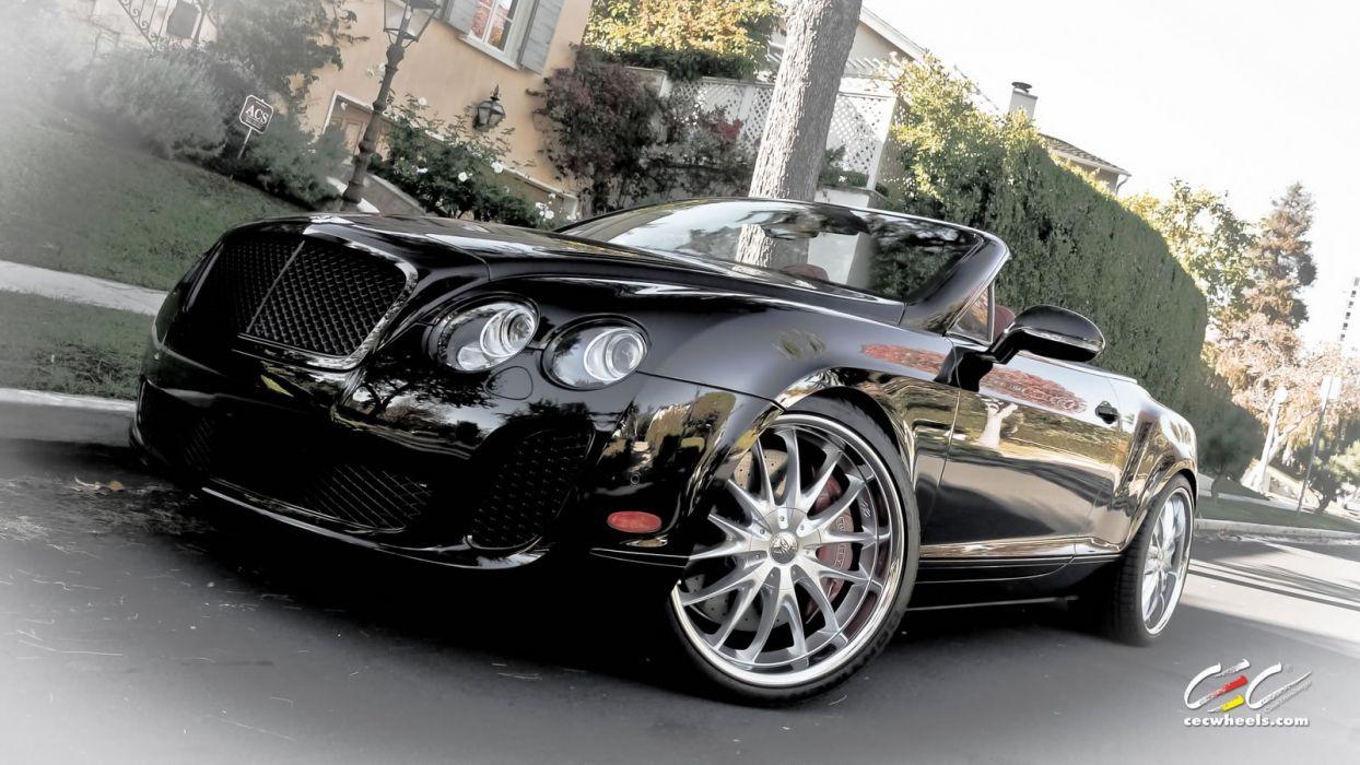 2015 cars CEC Tuning wheels Bentley GTC Supersports convertible wallpaper