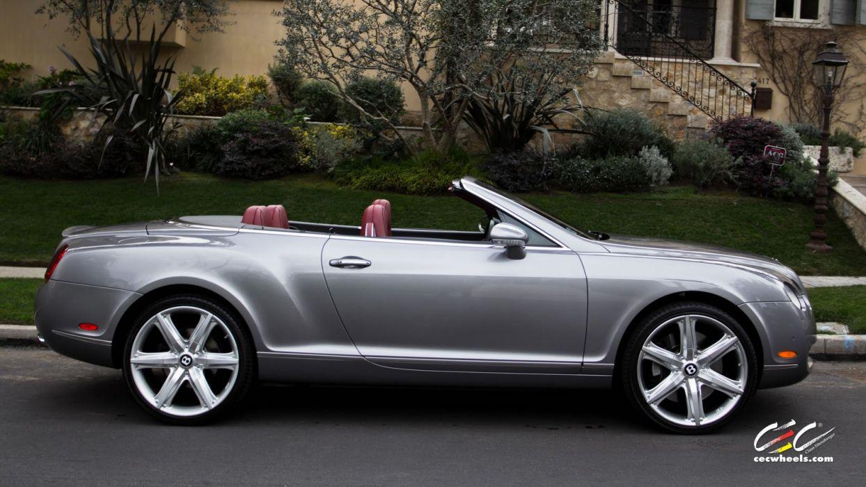 2015 cars CEC Tuning wheels Bentley Continental GTc wallpaper