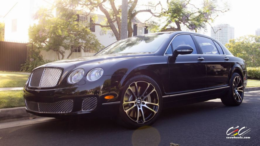 2015 cars CEC Tuning wheels Bentley Continental Flying Spur wallpaper